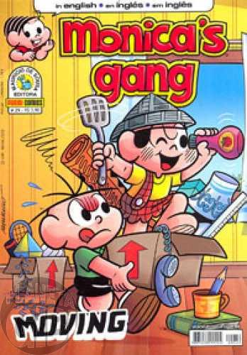 Monica's Gang nº 029 abr/2012 - Revista em Inglês - Moving
