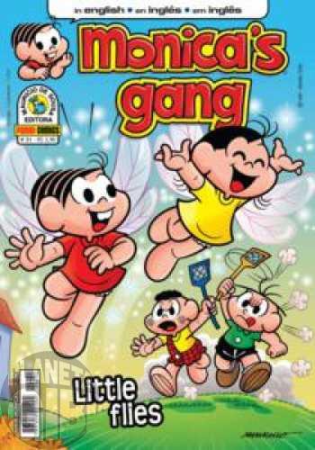 Monica's Gang nº 031 jun/2012 - Revista em Inglês - Little Flies