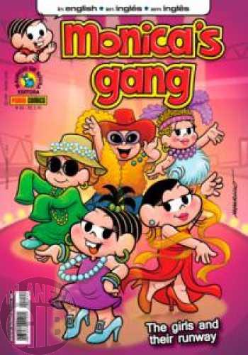 Monica's Gang nº 033 ago/2012 - Revista em Inglês - A Bit of Revenge
