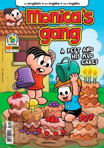 Monica's Gang nº 035 out/2012 - Revista em Inglês - The Sleepwalker