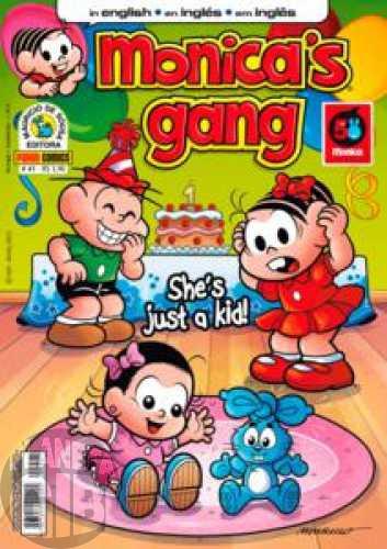 Monica's Gang nº 041 abr/2013 - Revista em Inglês