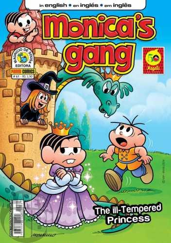 Monica's Gang nº 061 dez/2014 - Revista em Inglês