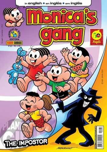 Monica's Gang nº 063 fev/2015 - Revista em Inglês - The Impostor