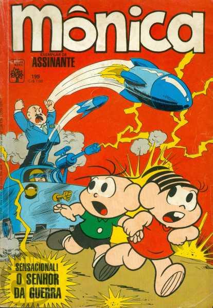 Mônica [1ª série - Abril] nº 199 nov/1986 - O Senhor da Guerra