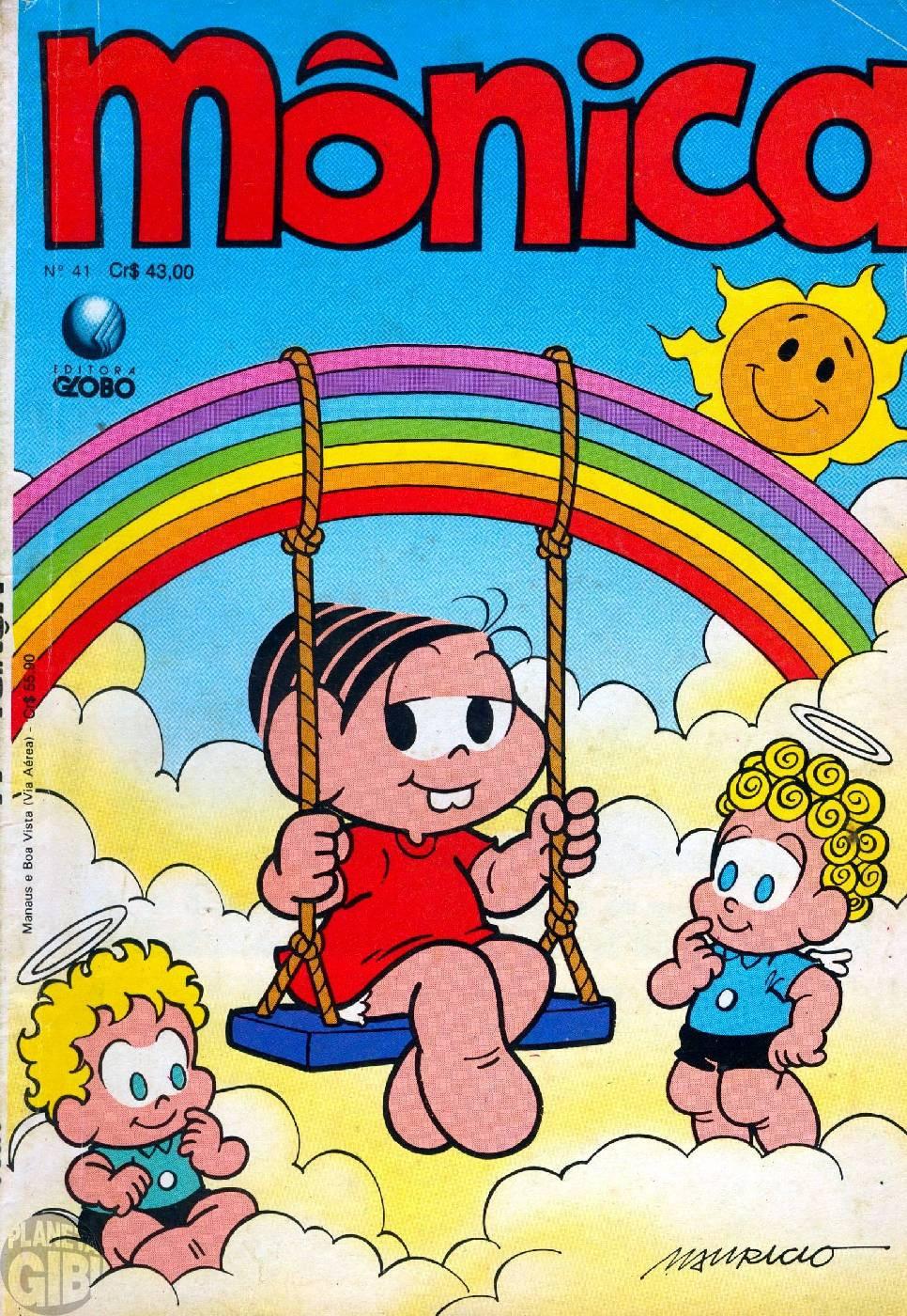 Mônica [2ª série - Globo] nº 041 mai/1990