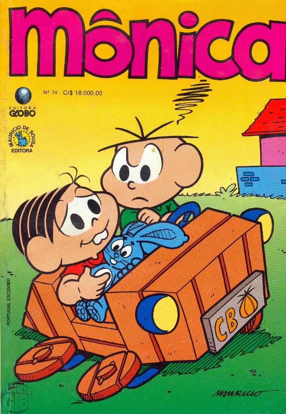 Mônica [2ª série - Globo] nº 074 fev/1993
