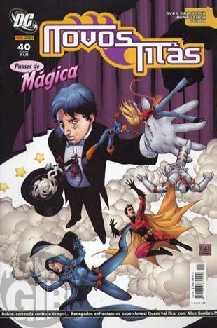 Novos Titãs [Panini - 1ª série] nº 040 out/2007