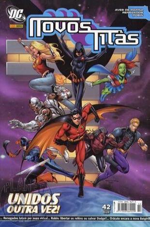 Novos Titãs [Panini - 1ª série] nº 042 dez/2007