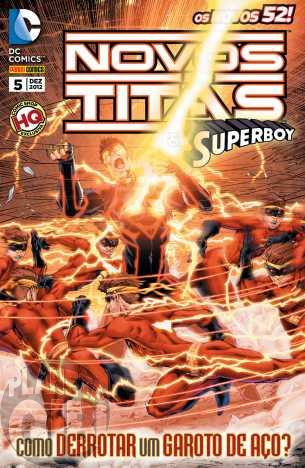 Novos Titãs & Superboy nº 005 dez/2012