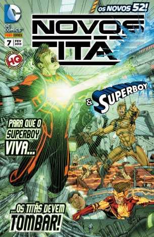 Novos Titãs & Superboy nº 007 fev/2013