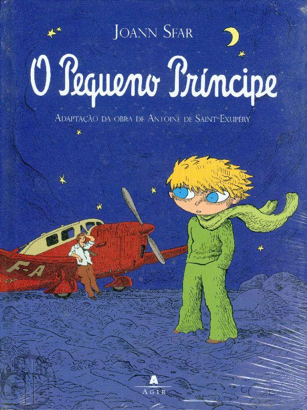 O Pequeno Príncipe  dez/2008 - Quadrinhos por Joann Sfar - Capa Dura