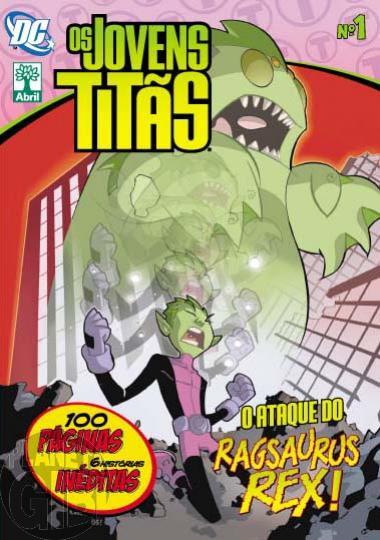 Os Jovens Titãs [Abril - DC Animated] nº 001 set/2011
