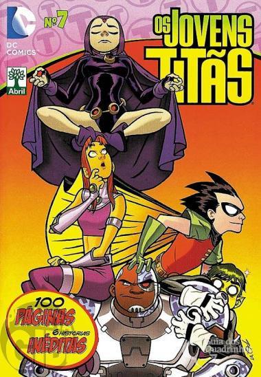 Os Jovens Titãs [Abril - DC Animated] nº 007 mai/2014