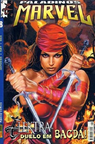 Paladinos Marvel [Panini] nº 008 ago/2002 - Justiceiro   Elektra   Nick Fury   Hulk