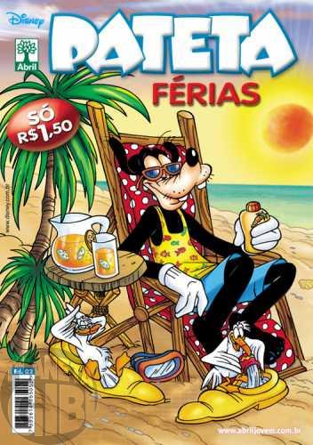 Pateta Férias nº 002 nov/2009