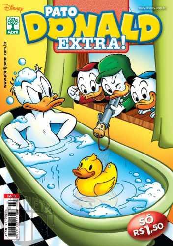 Pato Donald Extra! nº 003 fev/2010