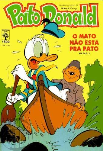 Pato Donald nº 1800 nov/1987