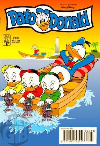 Pato Donald nº 2038 jul/1994