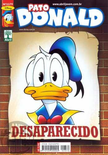 Pato Donald nº 2379 fev/2010 - Cadê o Donald?