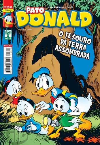 Pato Donald nº 2382 mai/2010 - O Tesouro da Terra Assombrada