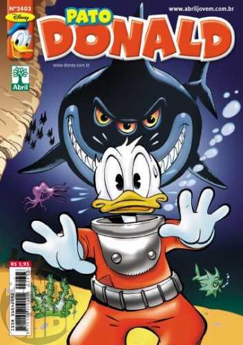 Pato Donald nº 2403 fev/2012 - O Tritão (Arild Midthun)
