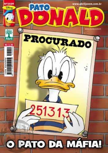 Pato Donald nº 2409 ago/2012 - Donnie Fiasco (Marco Rota)