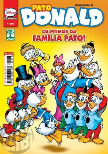 Pato Donald nº 2416 mar/2013 - Os Primos da Família Pato!