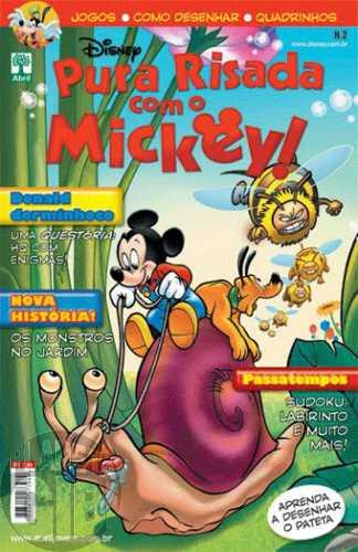 Pura Risada com o Mickey! nº 002 dez/2010 - Formato Americano - Casty