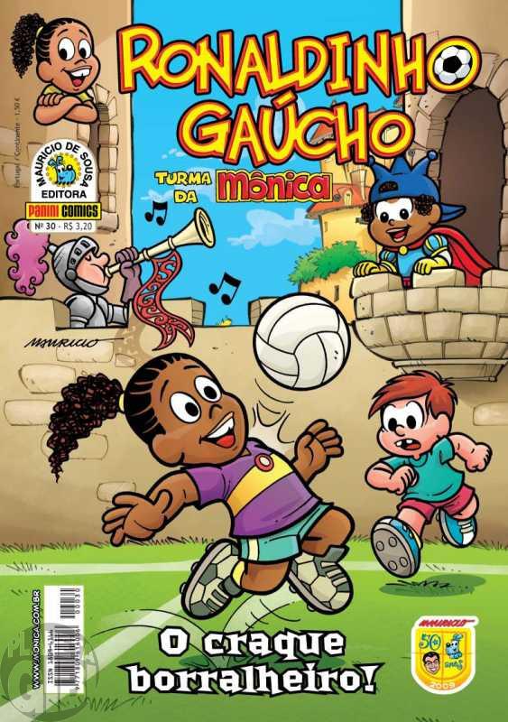 Ronaldinho Gaúcho [2ª série - Panini] nº 030 jun/2009