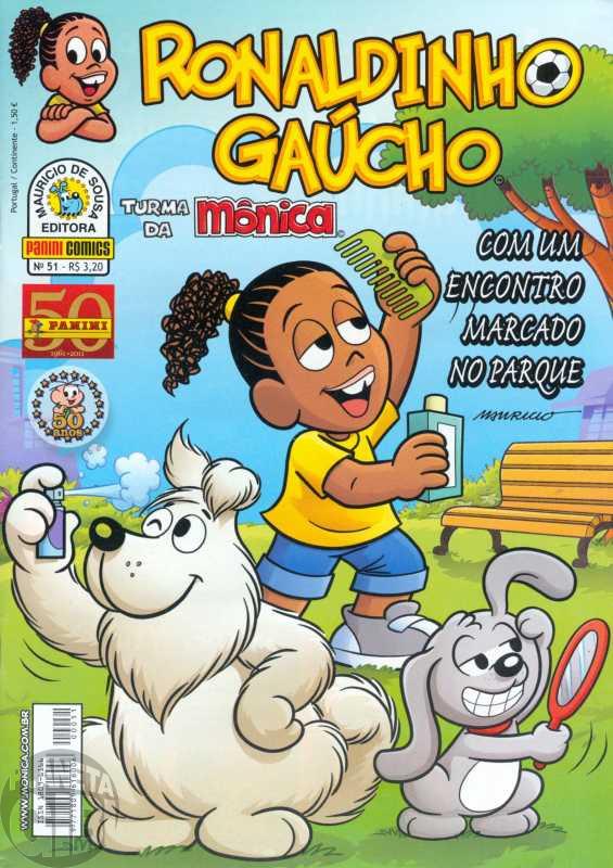 Ronaldinho Gaúcho [2ª série - Panini] nº 051 mar/2011