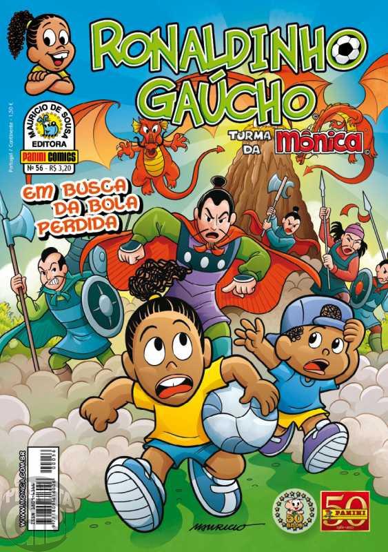 Ronaldinho Gaúcho [2ª série - Panini] nº 056 ago/2011