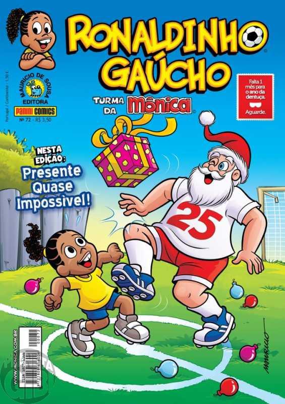 Ronaldinho Gaúcho [2ª série - Panini] nº 072 dez/2012