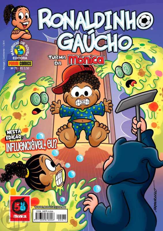 Ronaldinho Gaúcho [2ª série - Panini] nº 075 mar/2013