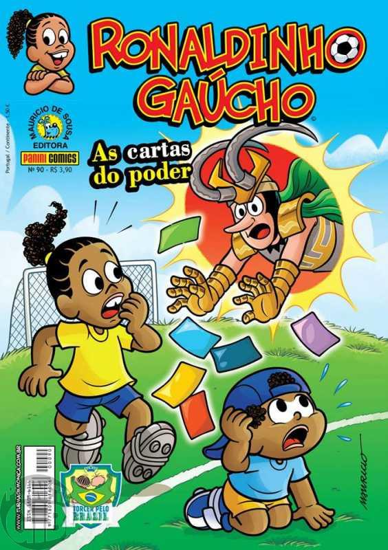 Ronaldinho Gaúcho [2ª série - Panini] nº 090 jun/2014