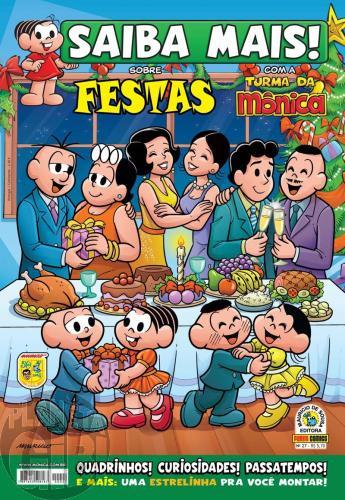 Saiba Mais! Turma da Mônica [Panini - 1s] nº 027 nov/2009 - Festas