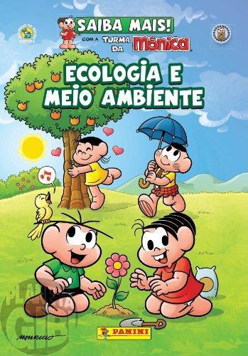 Saiba Mais! Turma da Mônica [Panini - Capa Cartão] nº 002 nov/2011 - Ecologia e Meio Ambiente