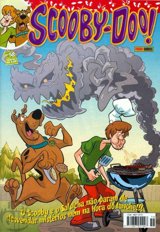 Scooby-Doo [Panini - 1ª série] nº 058 jul/2009 Até 22/07/2019