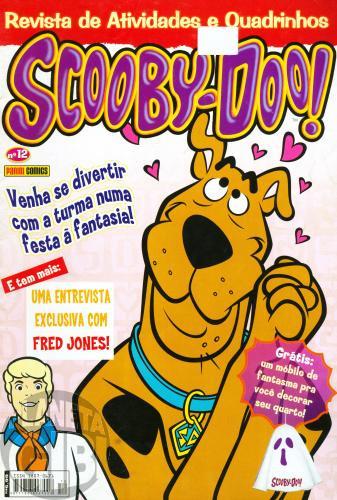 Scooby-Doo Revista de Atividades e Quadrinhos [Panini] nº 012 ago/2005 - Vide Detalhes