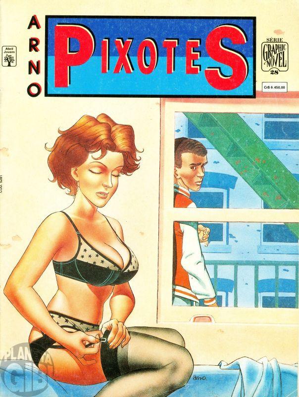 Série Graphic Novel [Abril] nº 028 abr/1992 - Pixotes