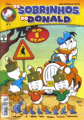 Sobrinhos do Donald nº 003 jun/2006 - A Batalha dos Sexos