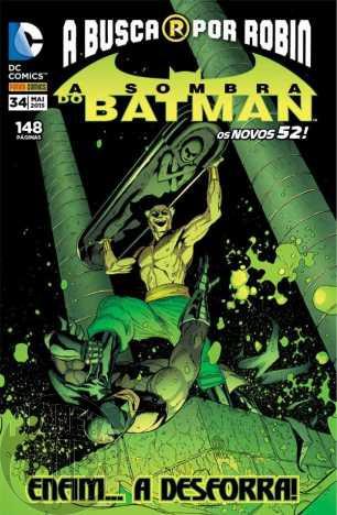 Sombra do Batman [Panini - 2ª série] nº 034 mai/2015