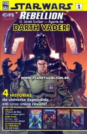 Star Wars [On Line Editora] nº 001 fev/2009 - Rebellion