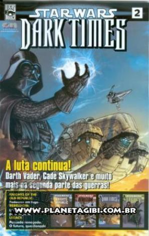 Star Wars [On Line Editora] nº 002 mar/09 - Dark Times