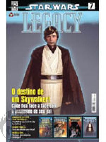Star Wars nº 007 ago/09 - On Line - Destino de Cade Skywalker