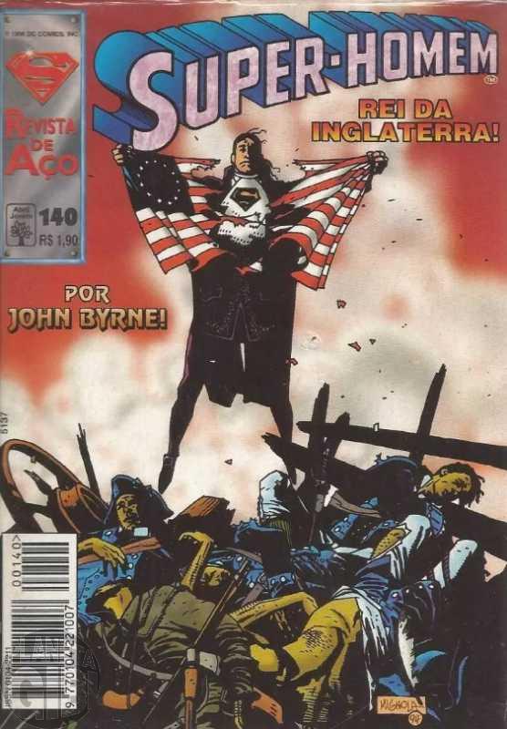 Super-Homem [Abril - 1ª série] nº 140 fev/1996