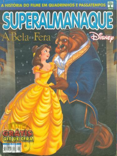 Superalmanaque nº 058 nov/2002 - Disney: A Bela e a Fera  - Vide Detalhes