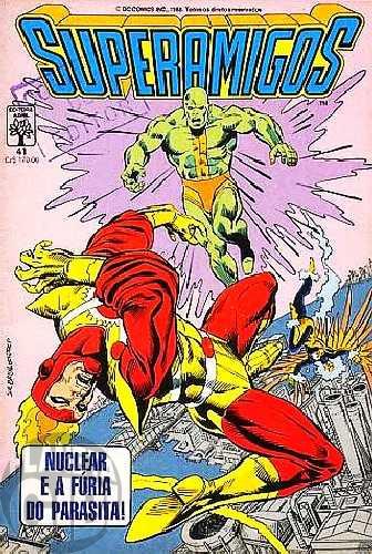 Superamigos [Abril] nº 041 set/1988 - Vide detalhes