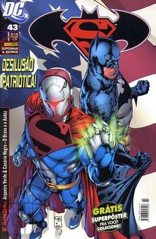 Superman & Batman [Panini - 1ª série] nº 043 jan/2009 - com brinde original Pôster