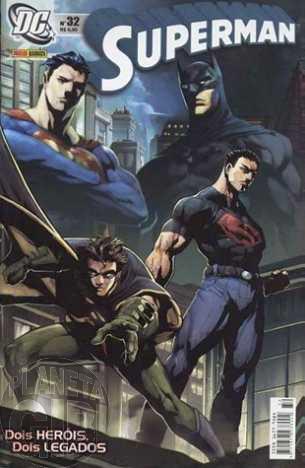 Superman [Panini - 1ª série] nº 032 jul/2005