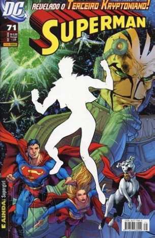 Superman [Panini - 1ª série] nº 071 out/2008